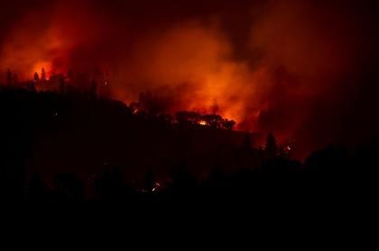 31 قتيلا في حرائق كاليفورنيا