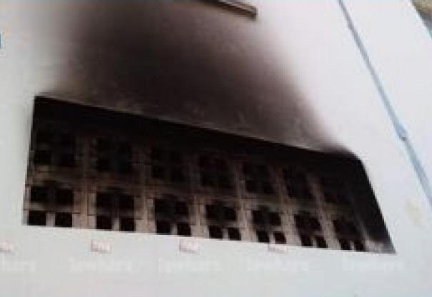 اقتحام المعهد الثانوي بالهوارية وحرق جزء منه