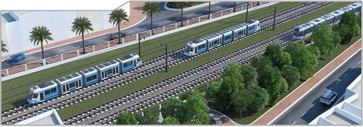 وزير النقل يدعو إلى التسريع في نسق أشغال مشروع الشبكة الحديدية السريعة