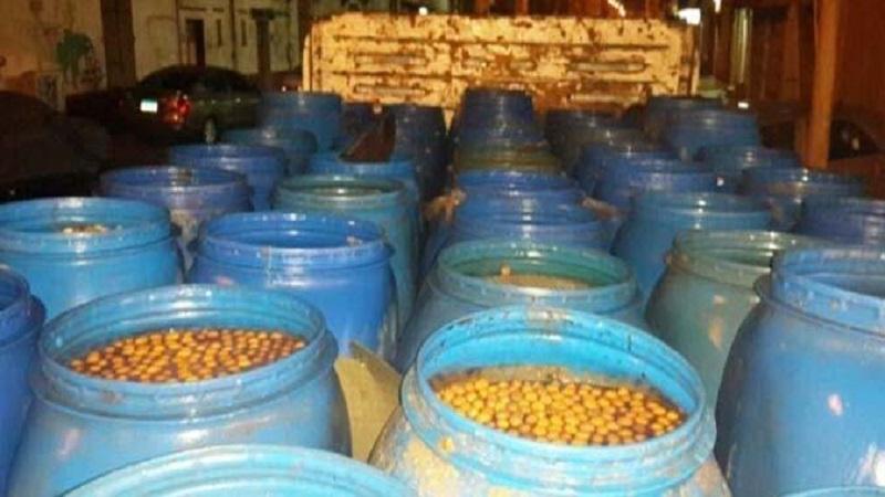 أريانة: حجز 35 طنا من المخللات والزيتون