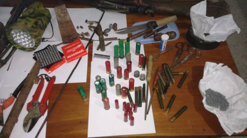 الكشف عن ورشة لصنع الأسلحة في العالية من ولاية بنزرت (صور)