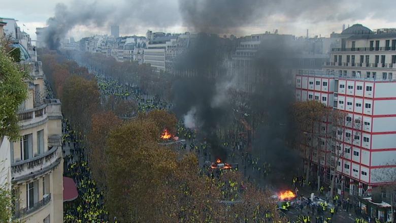 إلغاء 50% من الحجوزات السياحية في فرنسا بسبب الاحتجاجات