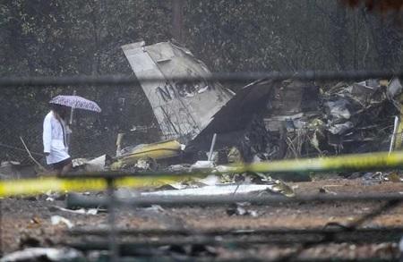 تحطم طائرة بمدينة أتلانتا ومقتل جميع ركابها