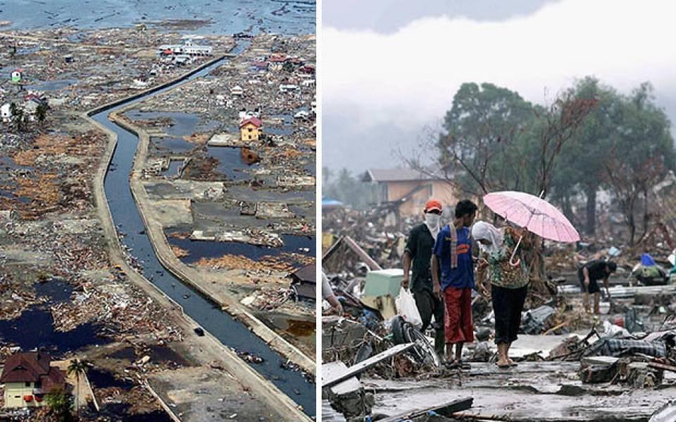 ارتفاع عدد قتلى التسونامي في إندونيسيا