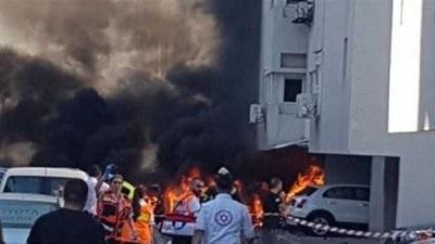 تفجير واطلاق نار في مدينة تشابهار الساحلية بإيران