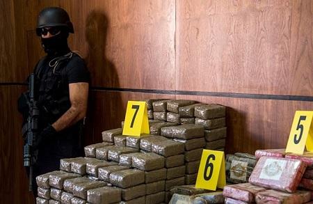 ضبط طنّ من الكوكايين في المغرب