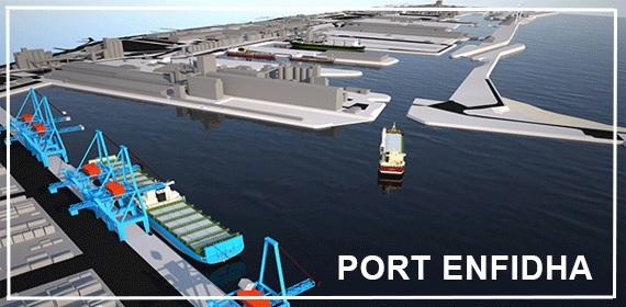 7 شركات عالمية تتنافس على إنجاز ميناء النفيضة