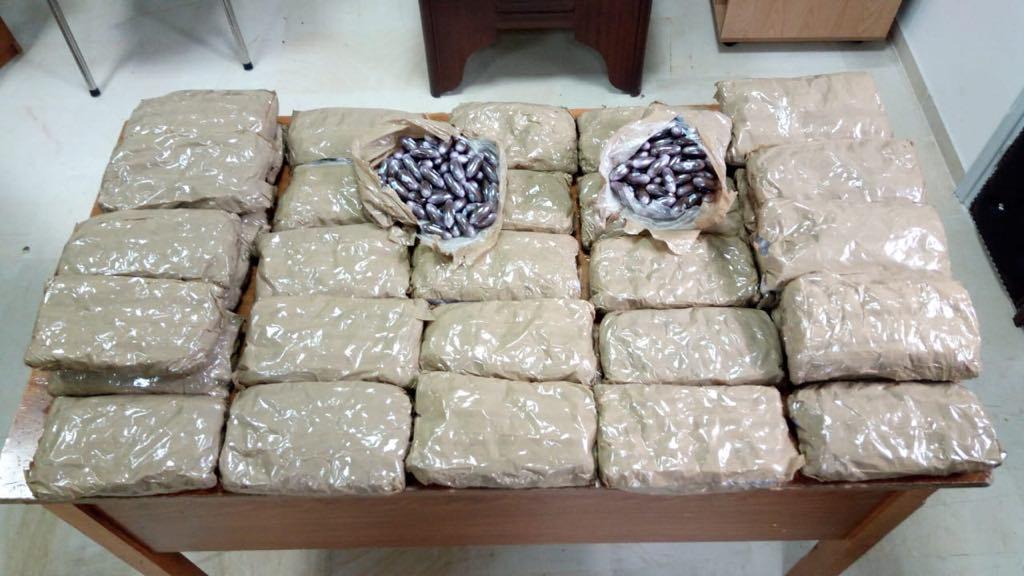 """طبرقة:العثور 40 كلغ من مخدر """"الزطلة"""" بقيمة 1,5 مليون دينار"""