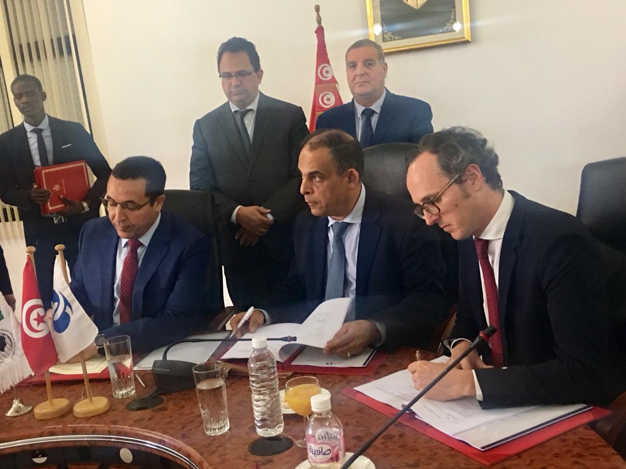 إتفاقية بـ 500 مليون دينار لبرنامج تطهير 33 بلدية جديدة