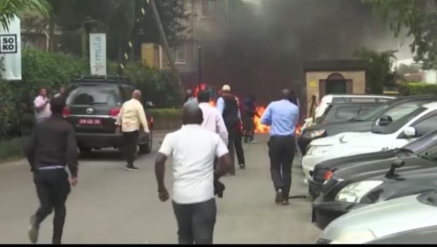 هجوم إرهابي على فندق في كينيا