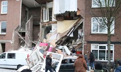 انفجار ضخم في لاهاي