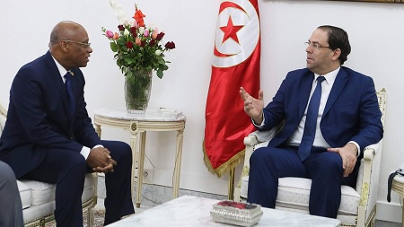 رئيس مفوّضية المجموعة الاقتصادية لدول غرب إفريقيا في زيارة الى تونس