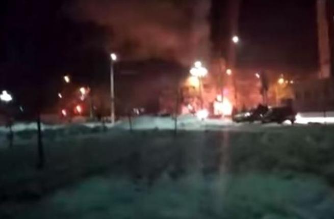 روسيا: مقتل 3 أشخاص في حريق بحافلة ركاب