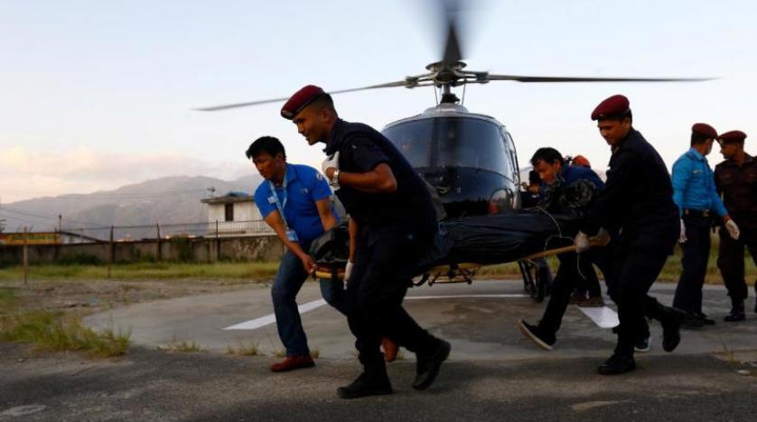 مقتل وزير السياحة النيبالي في حادث تحطم مروحية