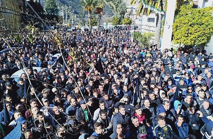احتجاجات في الجزائر ضد ترشح بوتفليقة