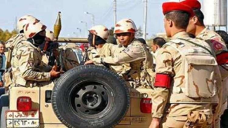 مقتل 15 عسكريا في هجوم إرهابي بسيناء