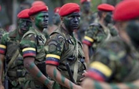 إنشقاق 167 عسكريا من الجيش الفنزويلي ووصولهم إلى كولومبيا