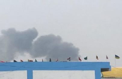 الهند: اصطدام طائرتين خلال استعراض جوي