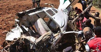 مقتل 5 أشخاص في تحطم طائرة بكينيا