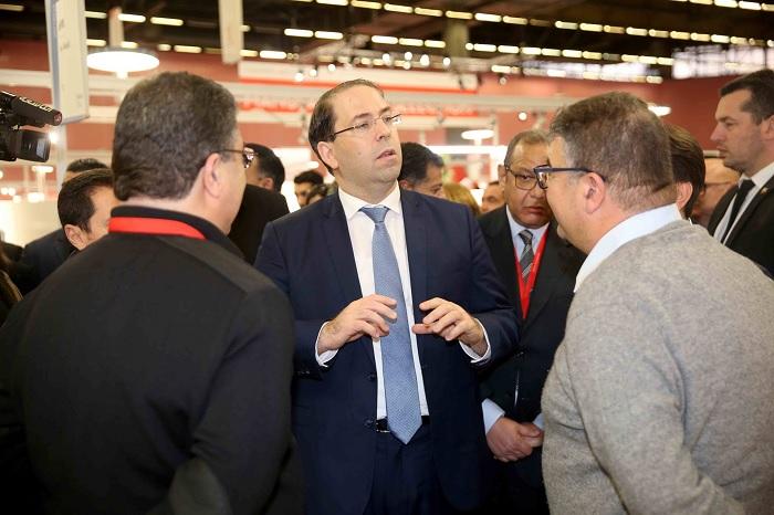 الشاهد يدعو الى الاستفادة من مميزات السوق الفرنسية في قطاع النسيج