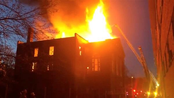 أمريكا: حريق في متحف سانت لويس للوثائق النادرة