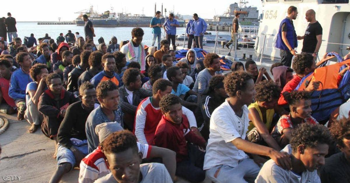 ليبيا: إصابة عشرات المهاجرين