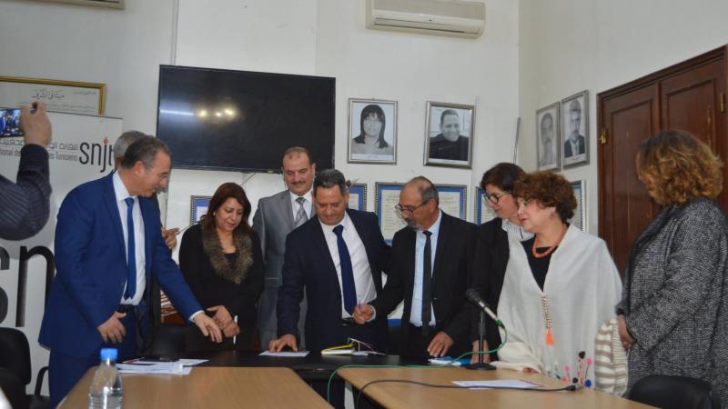 """منظمات المجتمع المدني التونسي تطلق وثيقة """"عهد دولة القانون"""""""