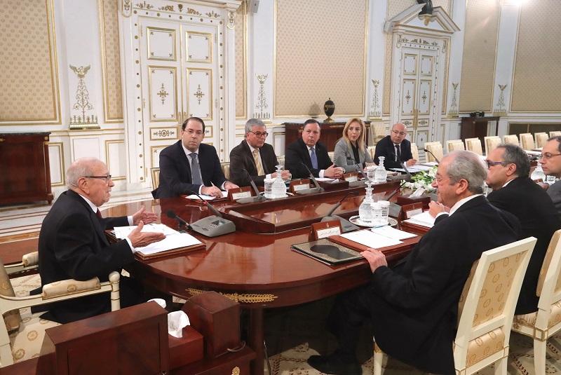 إنطلاق أشغال مجلس الأمن القومي بقصر قرطاج