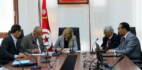 إمضاء محضر إتفاق بين وزارة الصحة والجامعة العامة للصحة