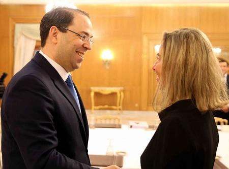 """فيديريكا موغريني:""""الإتحاد الاوروبي يُساند تونس سياسيا واقتصاديا"""""""