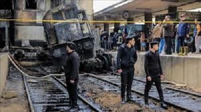 سجن متهمّ سابع في حادث القطار بمصر