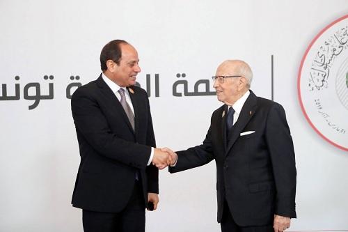 الرئيس المصري يحلّ بتونس للمشاركة في القمة العربية