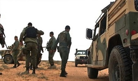 إيقاف 6 أجانب في المنطقة الحدودية العازلة