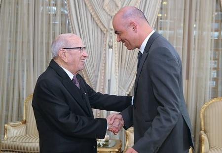 رئيس الجمهورية يلتقي وزير الداخلية السويسري