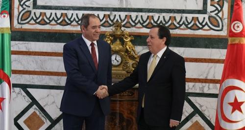 نداء مشترك لوزيري الخارجية التونسي والجزائري حول الوضع في ليبيا