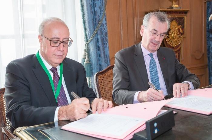 إتفاقية تعاون بين البنك المركزي التونسي والبنك الفرنسي