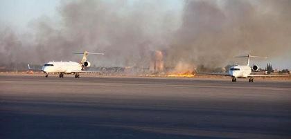 ليبيا: قصف مطار معيتيقة الدولي