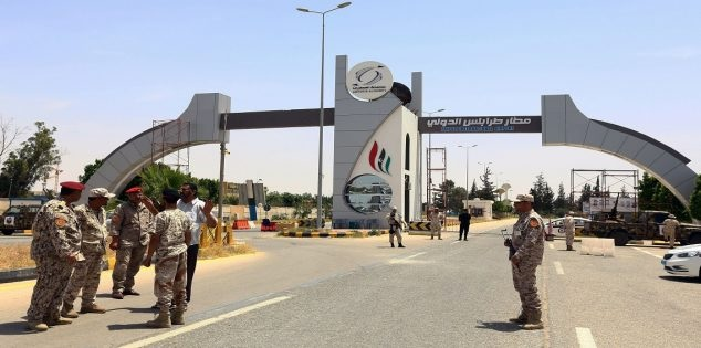 استئناف الرحلات الجوية في مطار طرابلس