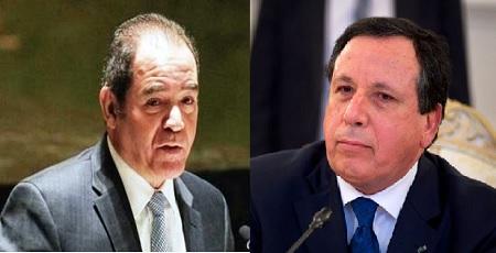 وزير الخارجية الجزائري في زيارة عمل إلى تونس