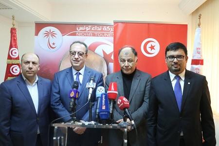 نداء تونس :شق حافظ قائد السبسي يعلن تركيبة مكتبه السياسي