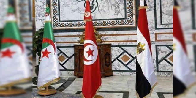 عقد اجتماع لوزراء خارجية تونس والجزائر ومصر، لانهاء حالة التوتر في ليبيا