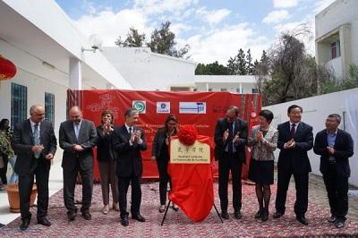 افتتاح اول معهد لتدريس اللغة الصينية