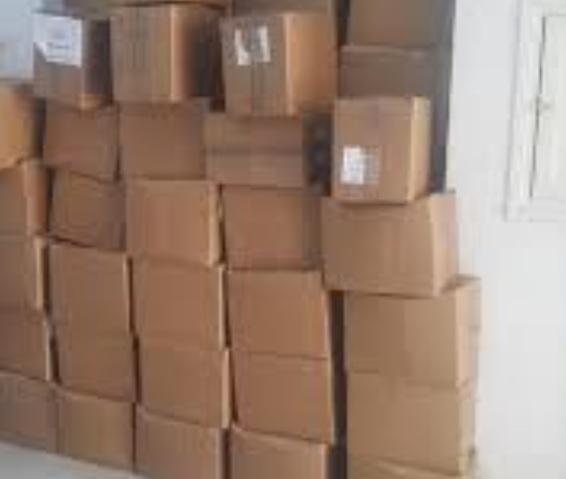 العاصمة: حجز 10 آلاف حذاء رياضي مجهول المصدر