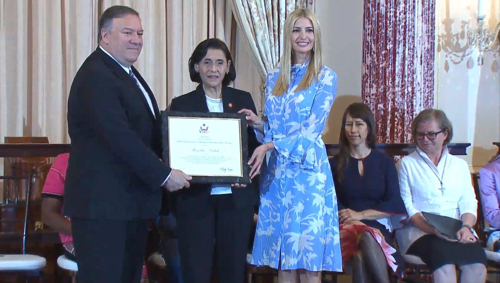 الهيئة الوطنية لمكافحة الاتجار بالأشخاص تفوز بجائزة أفضل تقرير في العالم