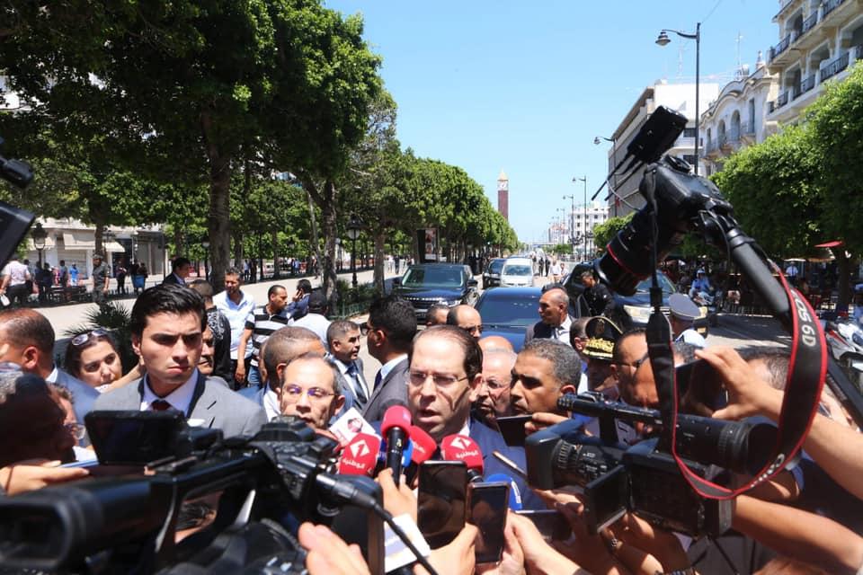 """الشاهد في شارع الحبيب بورقيبة:"""" لن يهدأ لنا بال حتى نقضي على آخر إرهابي"""""""