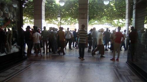 بلاغ وزارة الداخلية بخصوص التفجير بنهج شارل ديغول بالعاصمة