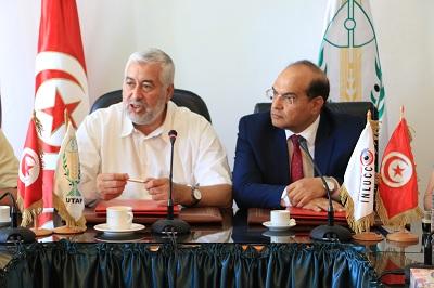 اتفاقية تعاون بين هيئة مكافحة الفساد و اتحاد الفلاحين