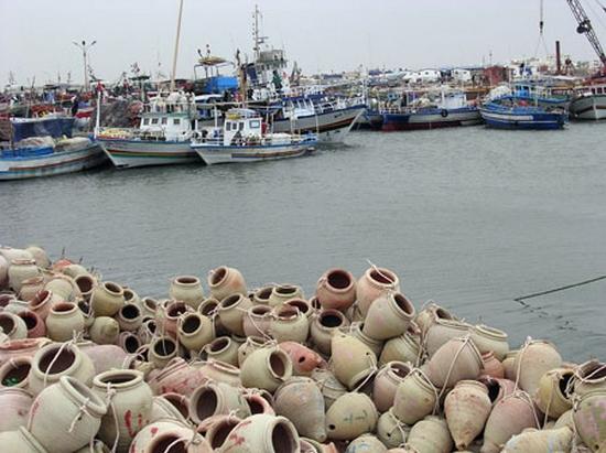 تقدم أشغال مشروع ميناء الصيد البحري بقرقنة بنسبة 57 %