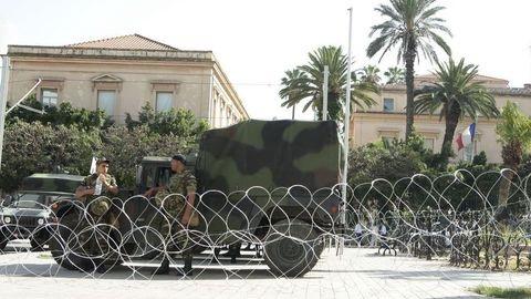 تفجير إرهابي قرب السفارة الفرنسية بتونس