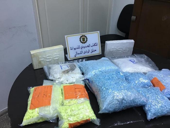 حجز كميات كبيرة من المخدرات بميناء حلق الوادي الشمالي (صور)